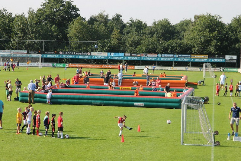 Pannaboarding VoetbalParty!